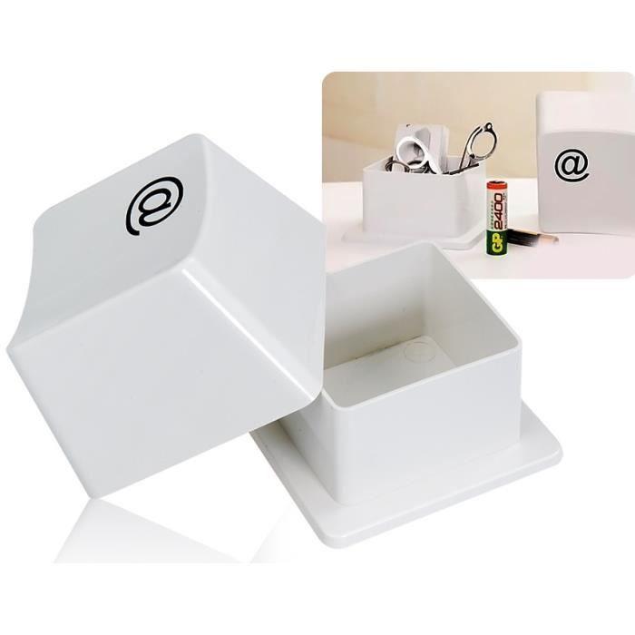 clavier key bo te de rangement design achat vente boite de rangement cdiscount. Black Bedroom Furniture Sets. Home Design Ideas