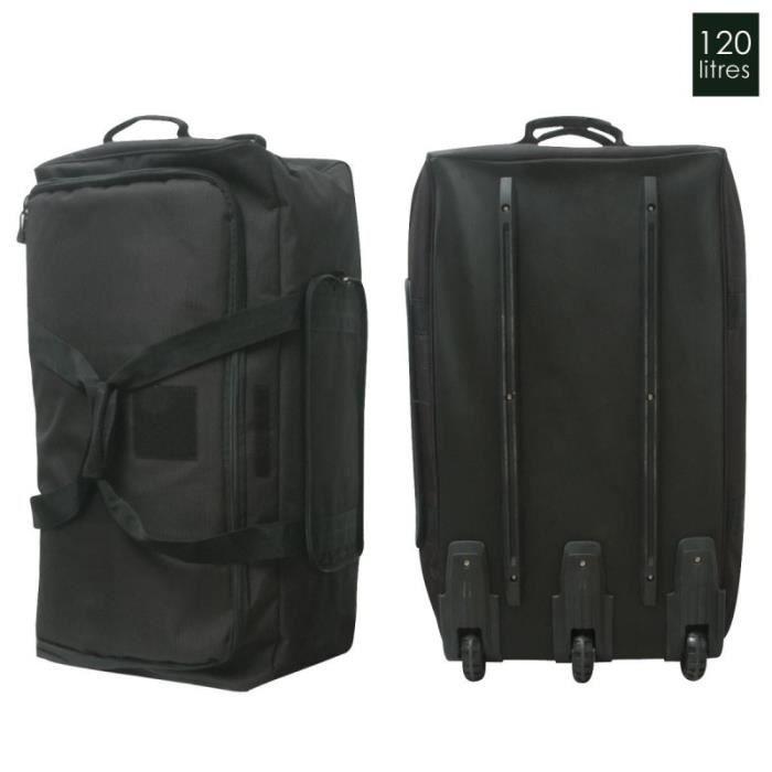 sac cargo cantine 3 roues 120 litres noir achat vente sac de voyage 3795120316434 cdiscount. Black Bedroom Furniture Sets. Home Design Ideas
