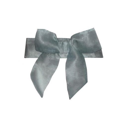 embrasse aimant e avec un noeud en organza gris achat vente embrasse cordon cdiscount. Black Bedroom Furniture Sets. Home Design Ideas