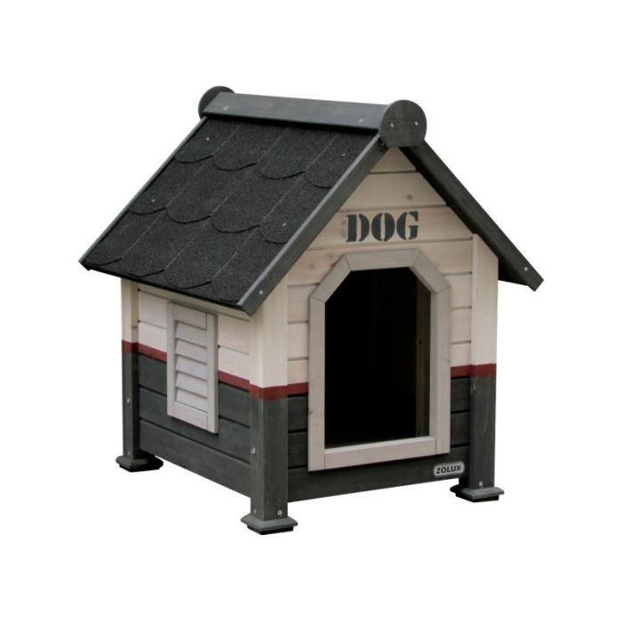 Niche bois red line m pour chiens de 12 a 25kg achat for Niche pour chien interieur