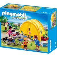 UNIVERS MINIATURE PLAYMOBIL 5435 Famille et Tente de Camping