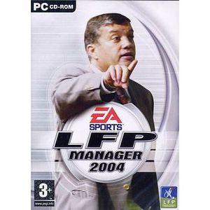 JEU PC LFP MANAGER 2004