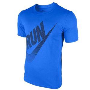 MAILLOT DE RUNNING NIKE T-shirt de Running M Nk Dry Tee LGD Run Brand