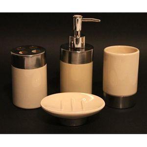 Accessoires salle de bains achat vente accessoires - Set de salle de bain pas cher ...
