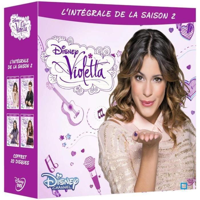 DVD SÉRIE INTEGRALE DVD VIOLETTA SAISON 2