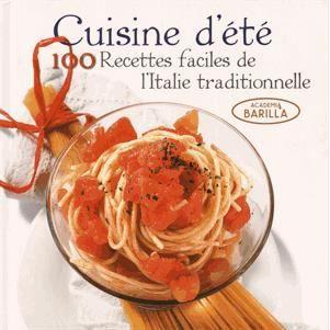 Cuisine d 39 t achat vente livre academia barilla - Cuisine d ete pas cher ...