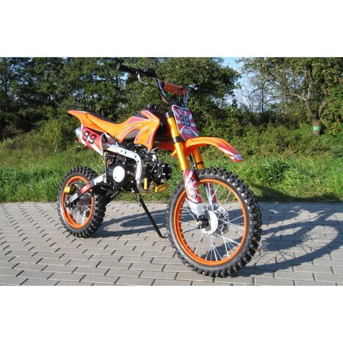 moto cross dirtbike enduro pour jeunes 125cc 17 14 pouces. Black Bedroom Furniture Sets. Home Design Ideas