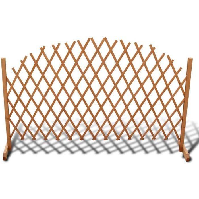 panneaux de cloture barriere en bois extensible 180 x 100. Black Bedroom Furniture Sets. Home Design Ideas