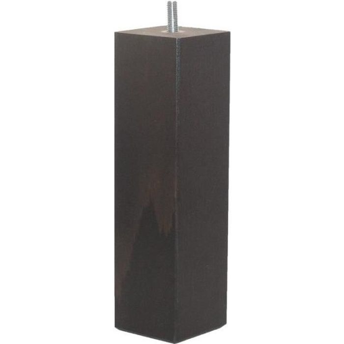 accessoires pieds pieds 20 cm pieds carre achat vente pied de lit cdiscount. Black Bedroom Furniture Sets. Home Design Ideas