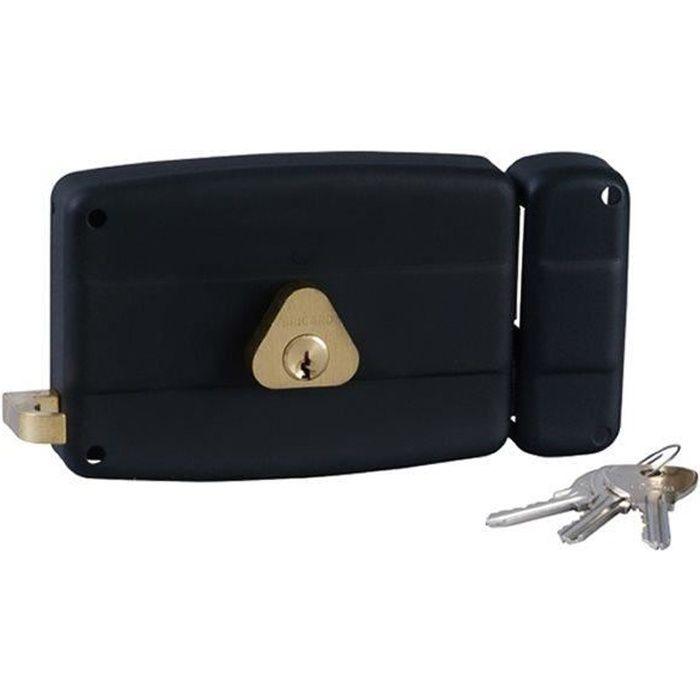 serrure en applique monopoint horizontale bricard tirage a droite achat vente serrure. Black Bedroom Furniture Sets. Home Design Ideas