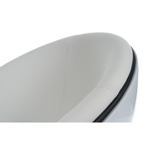 fauteuil design en plastique polym re de couleu achat vente fauteuil blanc cdiscount. Black Bedroom Furniture Sets. Home Design Ideas