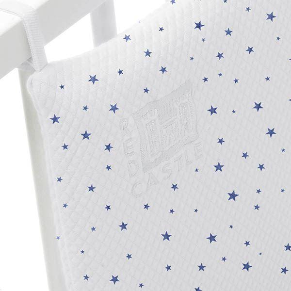 tour de lit 39 collection etoiles 39 blanc etoile achat vente tour de lit b b tour de lit. Black Bedroom Furniture Sets. Home Design Ideas