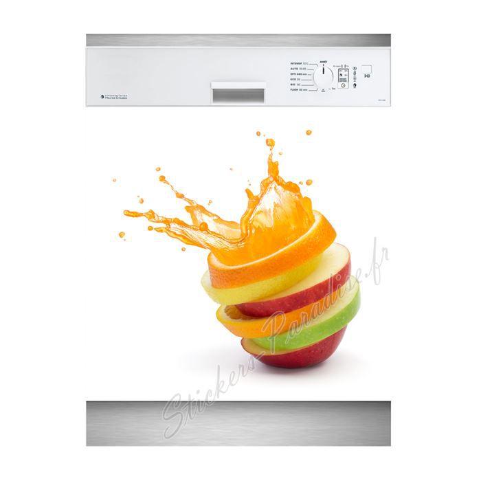 Stickers lave vaisselle fruits liquides r f achat for Mon lave vaisselle fuit