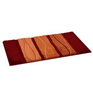 Tapis salle de bain orange achat vente tapis salle de for Panneau acrylique salle de bain pas cher