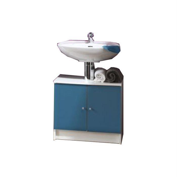 Meuble sous lavabo bleuet 3 achat vente meuble vasque plan meuble sous - Meubles sous lavabo ikea ...