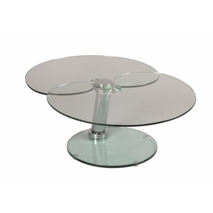 Table basse clover en verre achat vente table basse table basse clover en verre cdiscount - Table basse en verre cdiscount ...