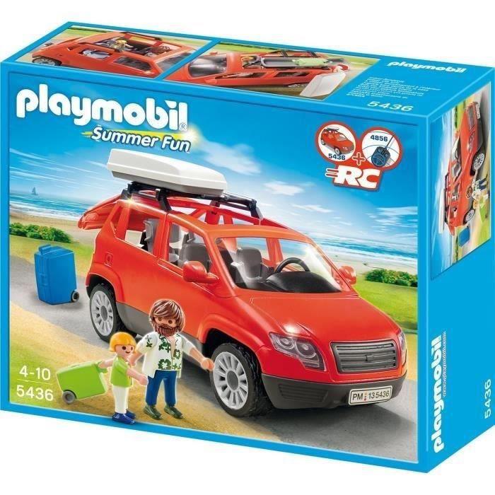 playmobil 5436 voiture avec coffre de toit achat vente univers miniature les soldes sur. Black Bedroom Furniture Sets. Home Design Ideas