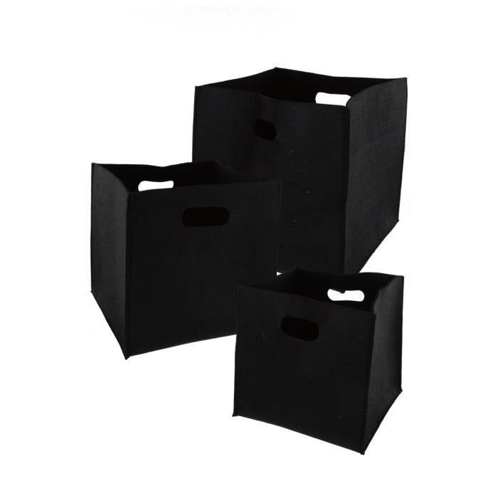 3 paniers de rangement achat vente corbeille pani re. Black Bedroom Furniture Sets. Home Design Ideas