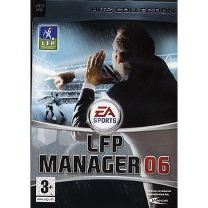 JEU PC LFP MANAGER 2006 / JEU PC CD-ROM