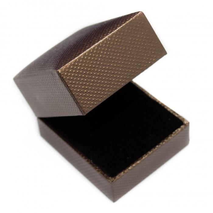 Boite bague ou boucle d 39 oreilles boite bijoux - Boite a bijoux boucle d oreille ...