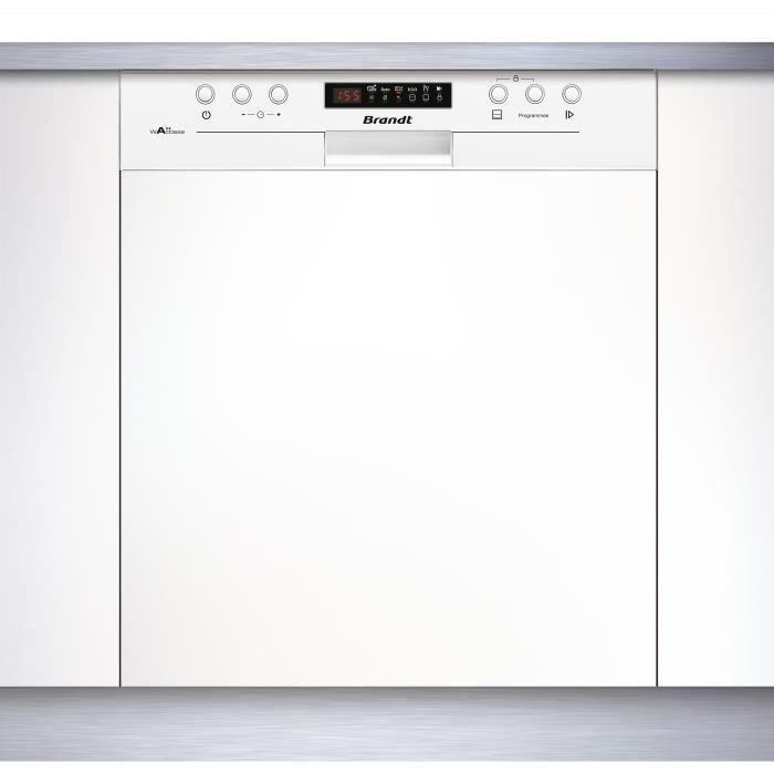brandt vh15w lave vaisselle avec bandeau achat vente lave vaisselle soldes cdiscount. Black Bedroom Furniture Sets. Home Design Ideas