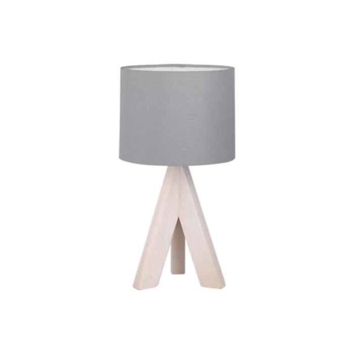 lampes de chevet en bois avec abat jour achat vente lampes de chevet en bois avec abat jour. Black Bedroom Furniture Sets. Home Design Ideas