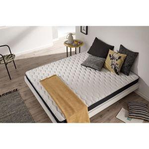 lit 120x190 achat vente lit 120x190 pas cher cdiscount. Black Bedroom Furniture Sets. Home Design Ideas