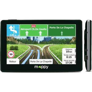 GPS AUTO MAPPY ITI E-437T GPS Voiture Slim Cartes à Vie 4,3