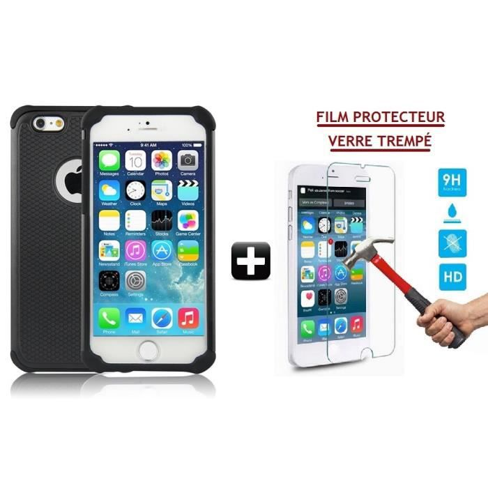 coque triple protection film cran vitre en verre tremp pour iphone 5c achat vente. Black Bedroom Furniture Sets. Home Design Ideas