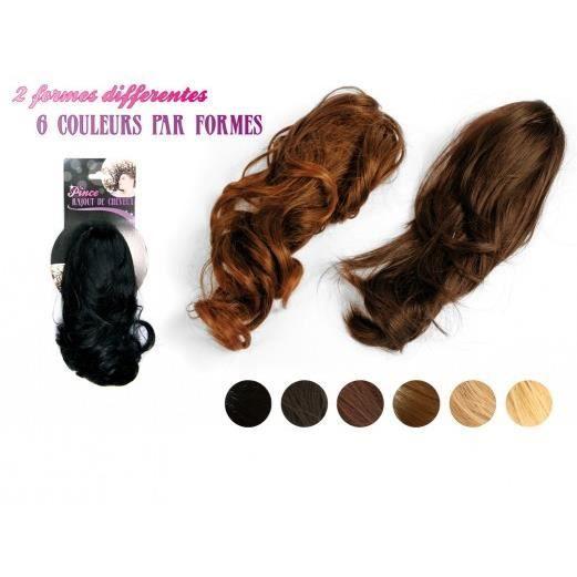 pince a cheveux avec rajout de cheveux noir achat vente perruque postiche pince a. Black Bedroom Furniture Sets. Home Design Ideas