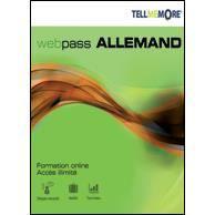 LOGICIEL À TÉLÉCHARGER Auralog Tell Me More Allemand - Webpass 3 mois