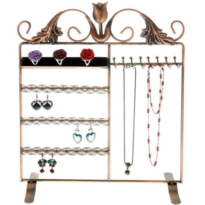 pr sentoir bijoux mixte cuivre achat vente. Black Bedroom Furniture Sets. Home Design Ideas