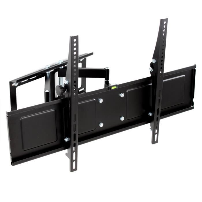 Support tv mural pour cran 42 65 inclinable achat - Support mural tv 107 cm ...