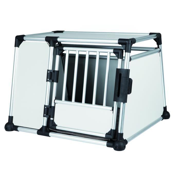 trixie box de transport pour chien alu 93x65x81 cm achat vente caisse de. Black Bedroom Furniture Sets. Home Design Ideas