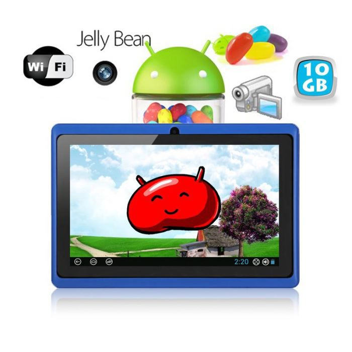 tablette tactile android 4 1 jelly bean 7 pouce prix. Black Bedroom Furniture Sets. Home Design Ideas
