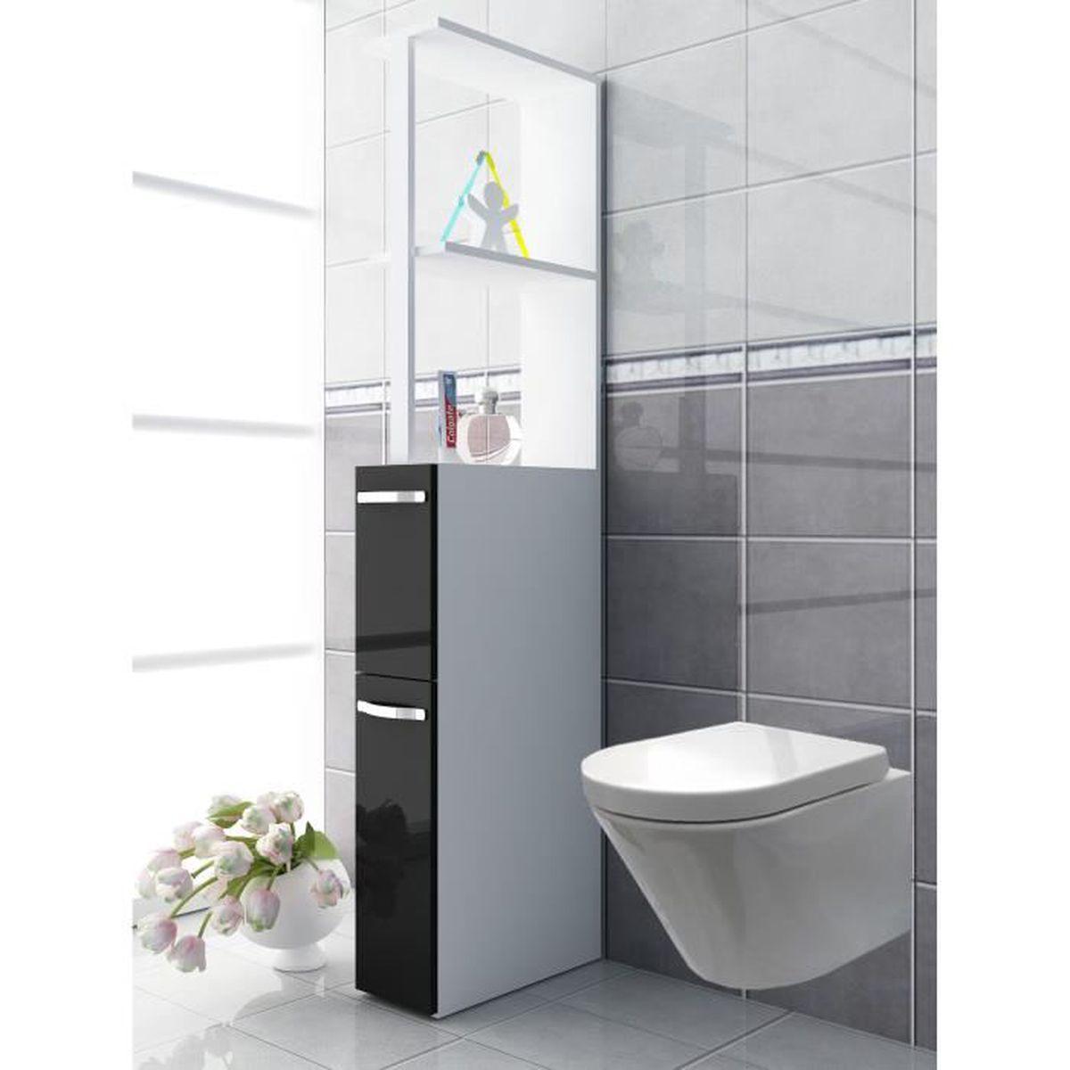 Vcm armoir niche tilosa pour salle de bain wc achat for Achat salle de bain complete