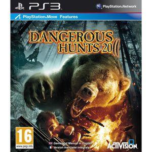 JEU PS3 CABELA'S DANGEROUS HUNTS / Jeu console PS3