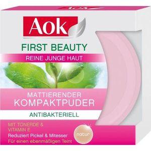 FOND DE TEINT - BASE AOK First Beauty Lot de 6 poudres compactes mat…