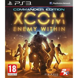 JEU PS3 XCom : Ennemy Within Commander Edition PS3