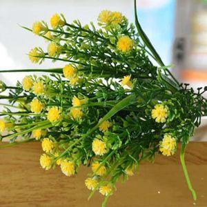 FLEUR ARTIFICIELLE nouveau 1 branche de petites plantes artificielles