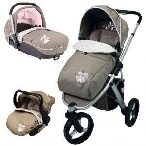trio poussette oakland 3 roues kali nina kenza achat vente poussette 3159059044439 les. Black Bedroom Furniture Sets. Home Design Ideas