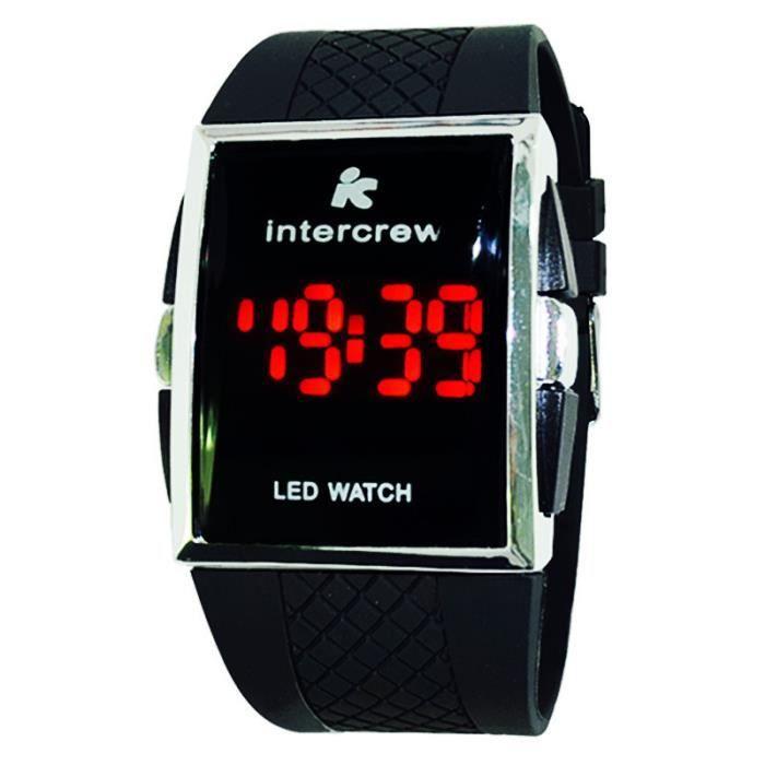 montre homme num riques montres de sport rouge led montres bracelets pour hommes achat vente. Black Bedroom Furniture Sets. Home Design Ideas