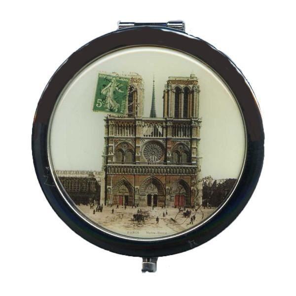 Miroir de sac paris le cath drale notre dame effet carte for Le miroir paris