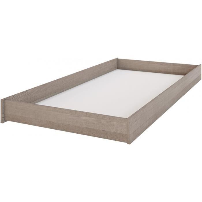 boston tiroir de lit scandinave m lamin d cor bois des. Black Bedroom Furniture Sets. Home Design Ideas