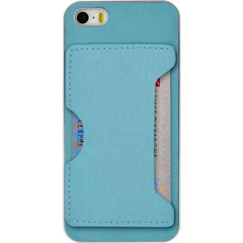coque rigide avec porte carte bleue pour iphone 6 achat. Black Bedroom Furniture Sets. Home Design Ideas