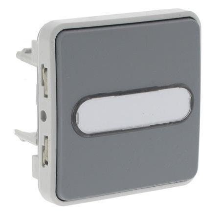 Bouton poussoir porte tiquette lumineux plexo achat vente interrupteur cdiscount - Bouton poussoir lumineux ...