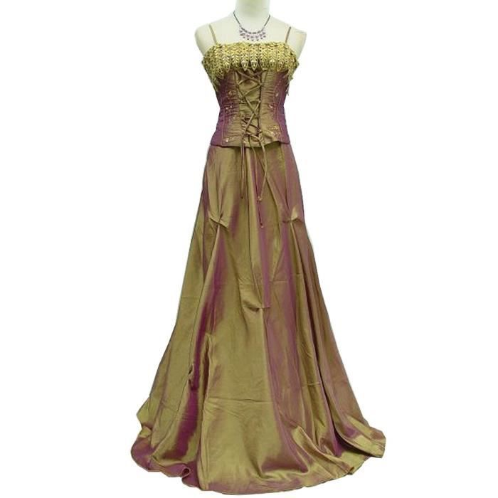 robe de soir e longue grande taille a corset lac avec. Black Bedroom Furniture Sets. Home Design Ideas
