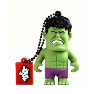 TRIBE Clé USB 3D 16GB - AVENGERS Hulk 16GO