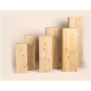 Colonne en bois achat vente meuble support plante for Meuble porte plante bois