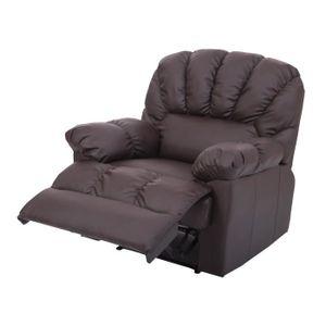 Fauteuil de relaxation achat vente fauteuil de relaxation pas cher cdis - Fauteuil chauffant massant ...